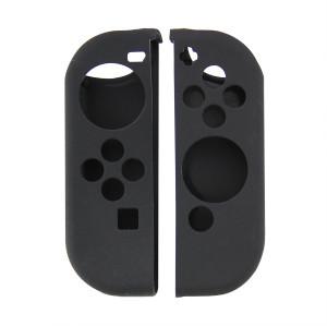 Anti-slip Silicone Grip Case Cover for Nintendo Switch JoyCon Controller  (Black)
