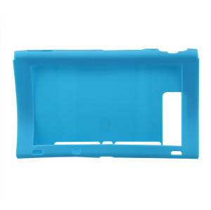 Silicone Case Cover Skins Shell  For Nintendo Switch Host Console Blue