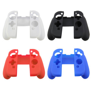 Silicone Rubber Skin Case Gel Cover For Nintendo Switch Joy-Con Charging Grip (4 Color)