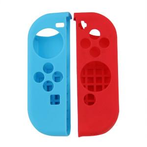 Nintendo Switch Joy Controller Silicon Case Red+blue