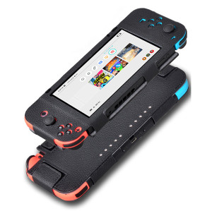 New Selling PU Leather Cover Case for Nintendo Switch Protective Holster