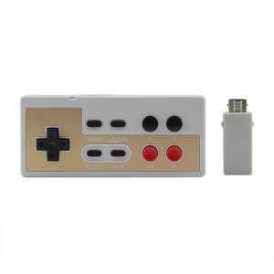 New Model 2.4G Wireless Controller for NES Mini Classic Edition Controller