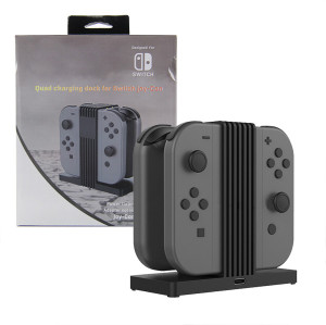 Charging Dock Station Charger with LED indication for Nintendo Switch Joy-Controller