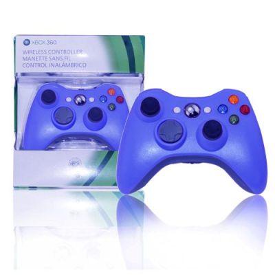 Xbox 360 Slim Wireless Controller Blue