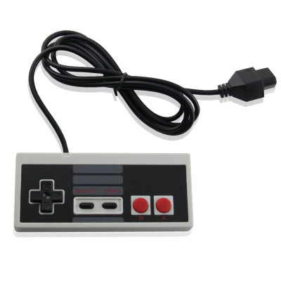 Classic Controllers for Nintendo Nes 8 bit System Console with Classic Plug