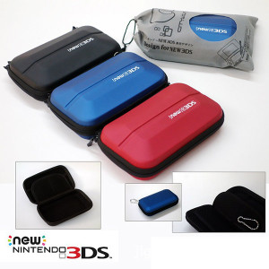 NEW 3DS EVA Hard Carry Bag