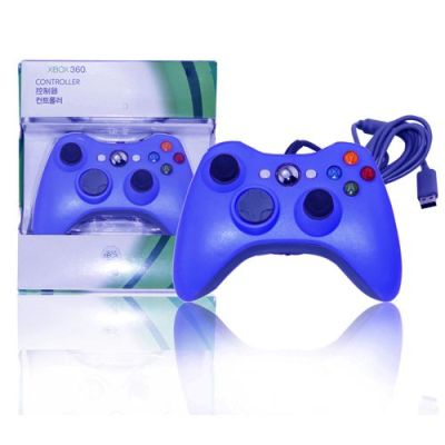 Xbox 360 Wired Controller Blue