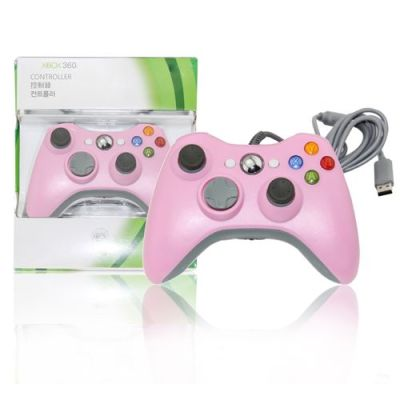 Xbox 360 Wired Controller Pink