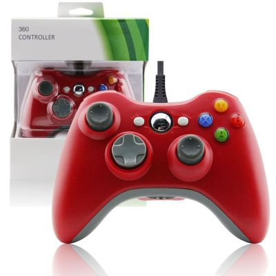 Xbox 360 Wired Controller Red