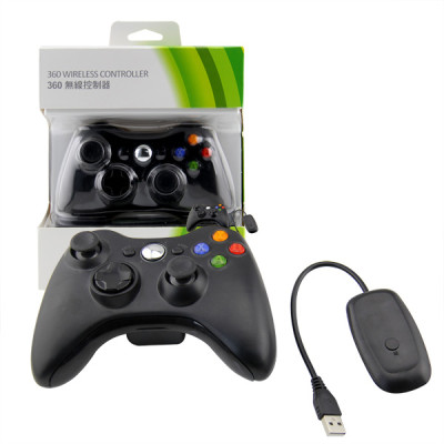 Xbox 360/PC Slim 2.4GWireless Controller Black Neutral Packing