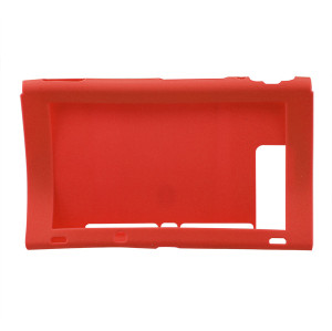 Silicone Case Cover Skins Shell For Nintendo Switch Host Console Red