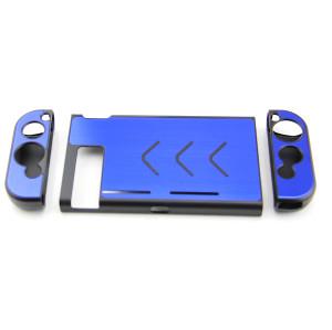 Nintendo Switch Console Full Aluminum Case (Blue)