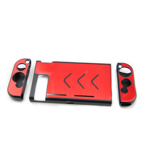 Nintendo Switch Console Full Aluminum Case (Red)