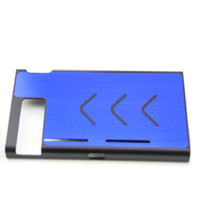 Anti-slip Aluminum Protective Case Cover Skin Shell For Nintendo Switch Console 7 Colors (Blue)