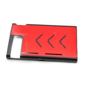 Anti-slip Aluminum Protective Case Cover Skin Shell For Nintendo Switch Console 7 Colors (Red)