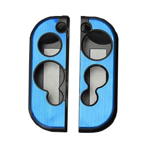 Aluminum Case Cover Protector For Nintendo Switch Grip Joy-Con Controller 7 Colors (Blue)