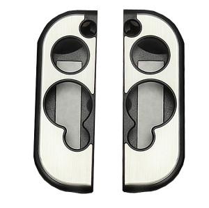 Aluminum Case Cover Protector For Nintendo Switch Grip Joy-Con Controller 7 Colors (Gray)