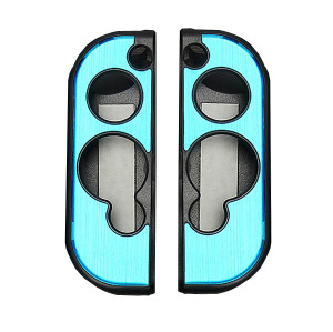 Aluminum Case Cover Protector For Nintendo Switch Grip Joy-Con Controller 7 Colors (Light Blue)