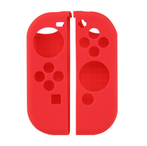 Anti-slip Silicone Grip Case Cover for Nintendo Switch JoyCon Controller 4 Color (Red)