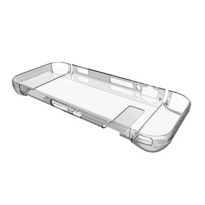 Transparent Skin Anti-Scratch Hard Back Case Cover for Nintendo Switch (Crystal)