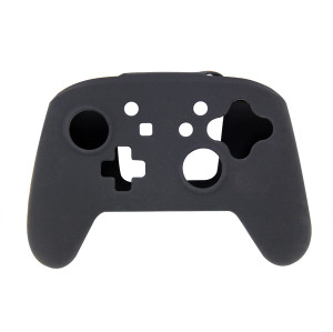 Silicone Skin Protective Case Cover for Nintendo Switch Controller(Black)