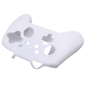 Silicone Skin Protective Case Cover for Nintendo Switch Controller(White)