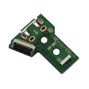 12Pin Connector USB LED Charging Board for PS4 Slim and Pro Dualshock 4 Controller