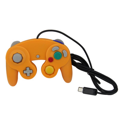 Nintendo Gamecube/Wii Wired Controller Orange
