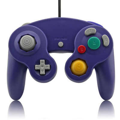 Wired Game Controller for NGC(purple)
