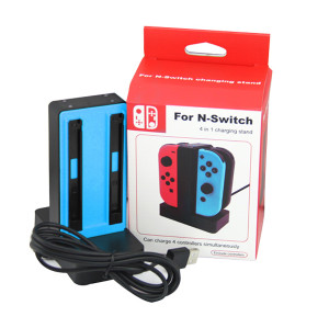 Nintendo Switch 4 in 1 Charging Stand Joy-Controller (Blue)