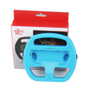 Racing Game Console Controller Steering Wheel Bracket For Nintendo Switch (Blue)
