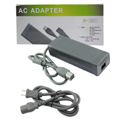 Xbox 360 Fat Console Charger Cord AC Adapter (PAL)