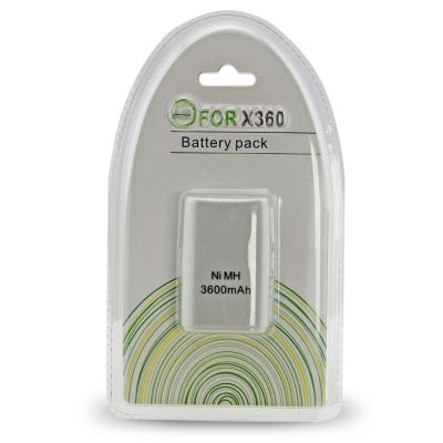 Xbox 360 Fat 3600mAh Rechargeable Battery Pack