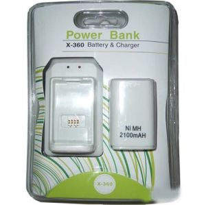 Xbox 360 Fat 2100mAh Power Bank Battery Charger