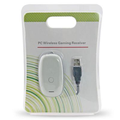 Xbox 360 Fat PC Wireless Gaming Receiver(White)