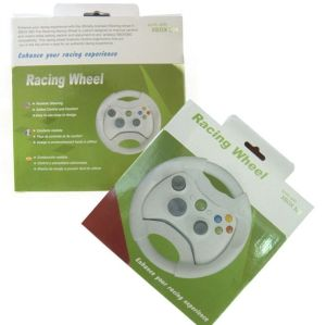 Xbox 360 Fat Gaming Racing Steering Wheel