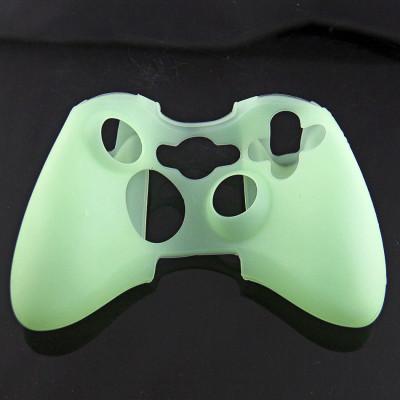 Xbox 360 Wireless Controller Silicone Case Pure Color(Assorted Color)