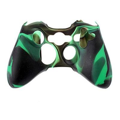 Xbox 360 Wireless Controller Silicone Case Cmouflage Color(Mixed Color)