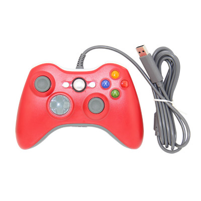 Xbox 360 Fat Controller Wired Gamepad (Assorted Color)