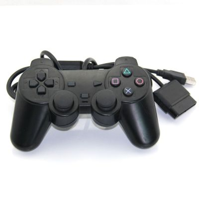 PS2 USB Wired Game Controller & Gamepad & Joystick