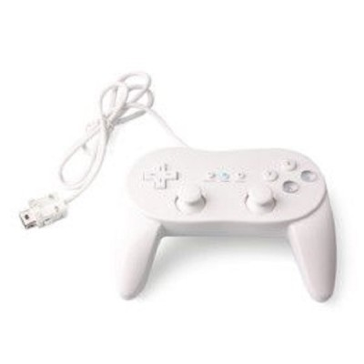 Wii Controller Gamepad Classic Style