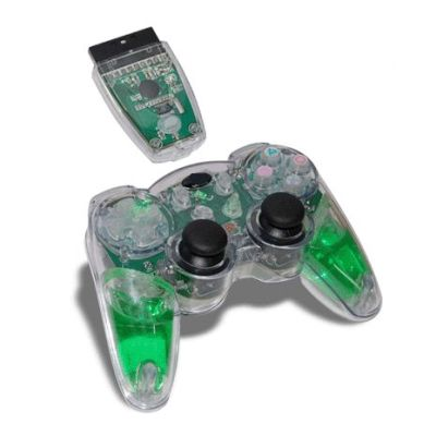 PS2 2.4G Wireless Controller With Light