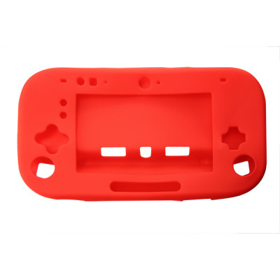 WII U Silicon Case Red