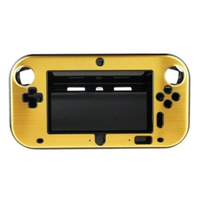 Wii U Aluminum  Shell Cover- Golden
