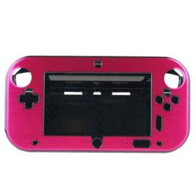 Wii U Aluminum  Shell Cover- Red