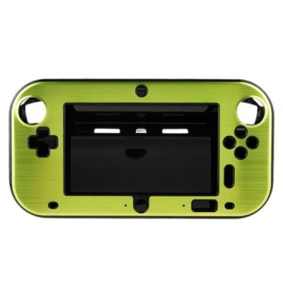Wii U Aluminum  Shell Cover- Green