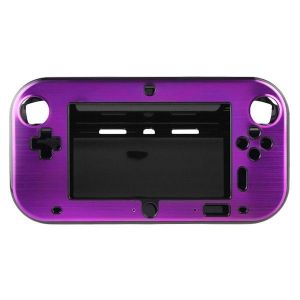 Wii U Aluminum  Shell Cover- Purple