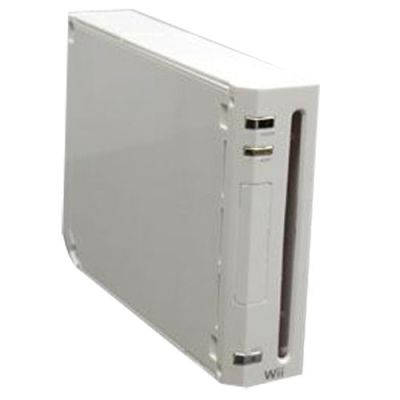Wii Console Hard Full Shell (White)