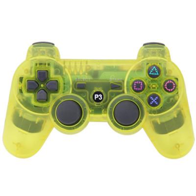 PS3 Bluetooth Joypad Crystal Yellow PP Bag