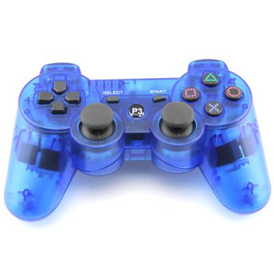 PS3 Bluetooth Joypad Crystal Blue PP Bag